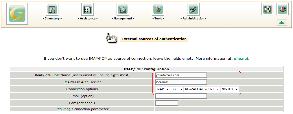 user authentications