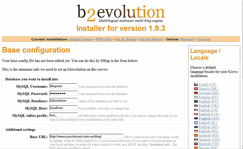B2evolution installer.png